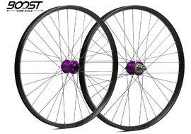 Hope Paire de roues Fortus 35 Violet 27,5'' Boost 2020