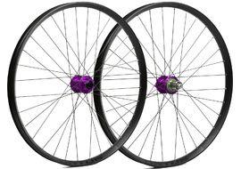 Hope Paire de roues Fortus 35 Violet 27,5'' 2020
