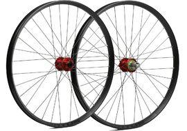 Hope Paire de roues Fortus 35 Rouge 27,5'' 2020