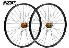 Hope Paire de roues Fortus 35 Orange 27,5'' Boost 2020