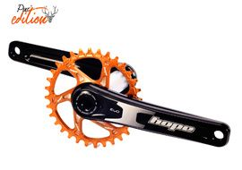 Hope Pédalier Evo Mono Direct Mount Pur'Edition Noir / Orange 2020