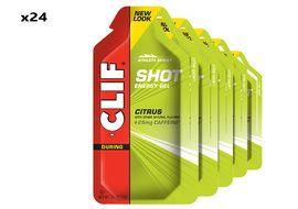 Clif Bar Boite de 24 gels énergétiques goût Citron
