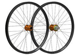 Hope Paire de roues Fortus 30 Orange 26'' 2019