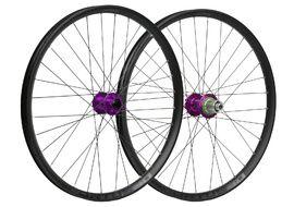 Hope Paire de roues Fortus 30 Violet 26'' 2019