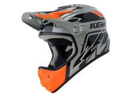 Kenny Casque Down Hill Noir et Orange 2020