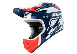 Kenny Casque Down Hill Blanc Marine et Rouge 2020
