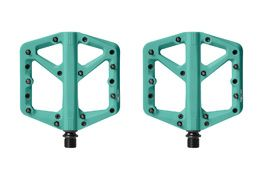 Crank Brothers Pédales Stamp 1 Turquoise 2020