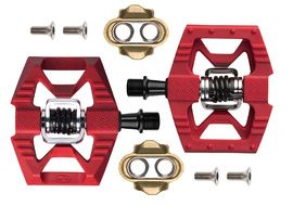 Crank Brothers Pédales Double Shot 1 Rouge 2020