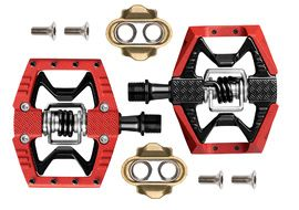 Crank Brothers Pédales Double Shot 3 Rouge 2020