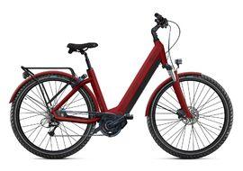 O2feel Vélo électrique Iswan Offroad Mixte Rouge - E6100 432 Wh - Taille S/M 2020