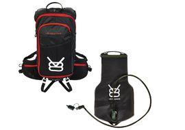 V8 Equipment Sac hydratation FRD 11.1 avec poche Elite 1,5/3L - Noir / Rouge