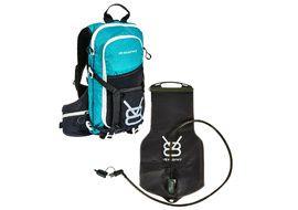 V8 Equipment Sac hydratation FRD 11.1 avec poche Elite 1,5/3L - Noir / Bleu
