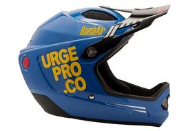 Urge Casque Bombair Bleu / Orange 2020