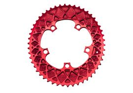 Absolute Black Plateau Ovale Premium - 5 trous 110 mm pour Sram - Rouge 2020