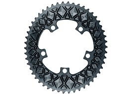 Absolute Black Plateau Ovale Premium - 5 trous 110 mm (non Sram) - Gris 2020