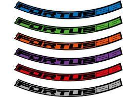 "Hope Kit Stickers pour jantes Fortus 26 – 27.5"" 2020"