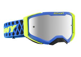 Kenny Masque Performance Level 2 Bleu Jaune Fluo 2020