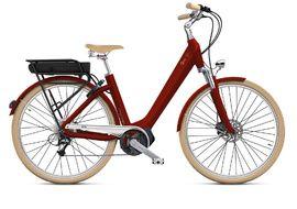 """O2feel Vélo électrique Swan D8 X Rouge - E5000 400 - 26"""" 2020"""