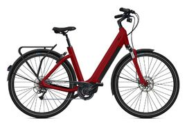O2feel Vélo électrique Iswan D9 Trekking Rouge - E6100 432Wh 2020