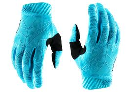 100% Gants Ridefit Blue/Black 2020