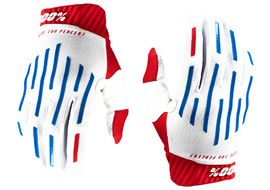 100% Gants Ridefit Red/White/Blue 2020