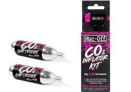 Muc-Off Gonfleur CO2 avec 2 cartouches