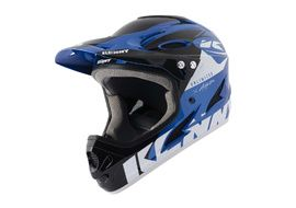 Kenny Casque Down hill Graphic Blue Black 2021