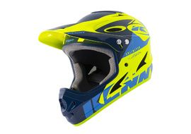 Kenny Casque Down hill Graphic Navy Neon Yellow 2021