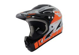 Kenny Casque Down hill Graphic Neon Orange Silver 2021
