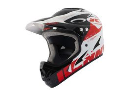 Kenny Casque Down hill Graphic White Red 2021
