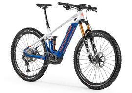 "Mondraker VTTAE Crafty Carbon RR 29"" Bleu/Blanc/Orange 2021"