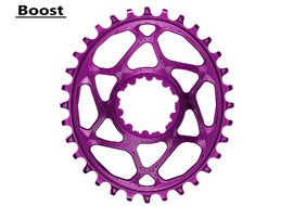 Absolute Black Plateau Oval Sram Direct Mount Boost Violet 2020