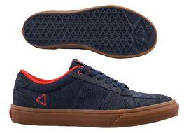 Leatt Chaussures 1.0 Flat Bleu Onyx 2021