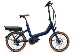 O2feel Vélo électrique Swan Fold N7 E5000 Bleu Steps - Powerpack 600 2020