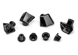 Absolute Black Kit de 4 vis + caches pour pédaliers Dura-Ace 9000 2020