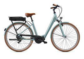 """O2feel Vélo électrique Vog City Up 3.1 Gris Perle - E5000 - Taille S (26"""")"""