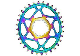 Absolute Black Plateau Oval Sram Direct Mount Boost PVD Rainbow 2020