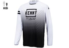Kenny Maillot Elite Enfant White Black 2021