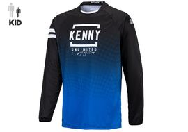 Kenny Maillot Elite Enfant Blue Black 2021