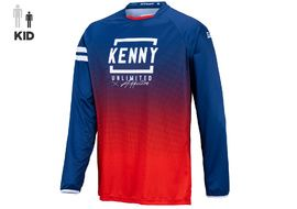 Kenny Maillot Elite Enfant Red Navy 2021