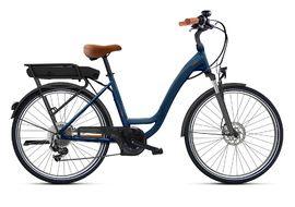 O2feel Vélo électrique Vog Origin 2.1 Bleu Boreal - Powerpack 400 2021