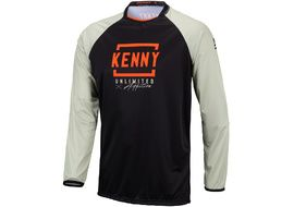 Kenny Maillot Defiant Black Orange 2021