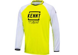 Kenny Maillot Defiant White Neon Yellow 2021