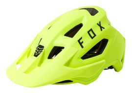 Fox Casque Speedframe MIPS Jaune Fluo 2021