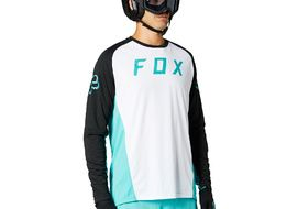Fox Maillot Defend Manches Longues Teal 2021