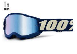 100% Masque Accuri 2 Enfant Deepmarine 2021