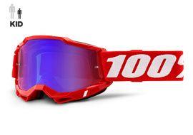 100% Masque Accuri 2 Enfant Rouge 2021