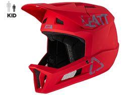 Leatt Casque MTB 1.0 DH Enfant Rouge Chilli 2021