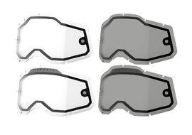 100% Ecran Dual Pane pour masque Strata 2 - Accuri 2 - Racecraft 2 2021