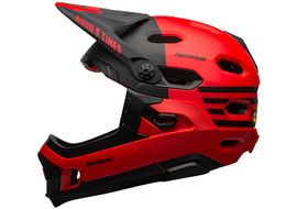 Bell Casque Super DH MIPS Rouge / Noir Fasthouse 2022